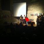 kleine Koffertheater Vorführung