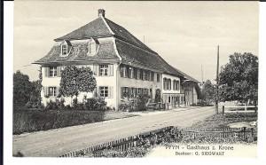 Das Gasthaus Krone in Pfyn
